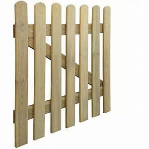 Portillon Bois Jardin : vidaxl portillon en bois 100 x cm 41416 jardin piscine ~ Preciouscoupons.com Idées de Décoration