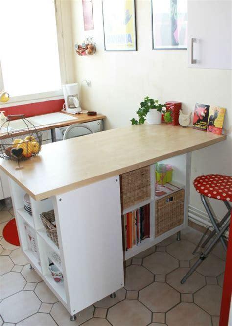 transformer une étagère ikea en un îlot de cuisine 20