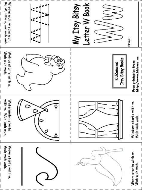 letter w worksheets homeschooldressage com
