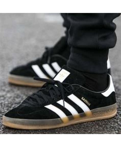 adidas gazel adidas gazelle womens black all black blue