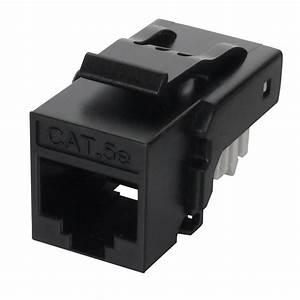 Cat5e Utp 90 U00b0 Toolless Rj45 Keystone Jack Supplier