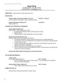 resume for part time students resume