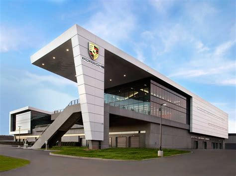 nike siege social check out porsche 39 s 100 million us headquarters it