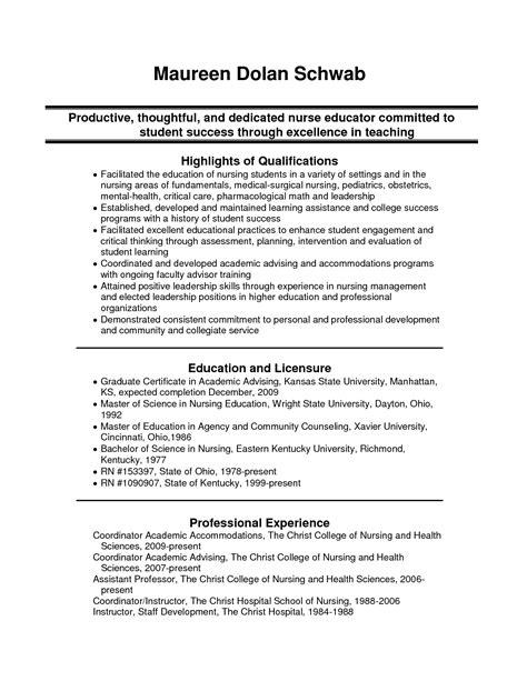 surgical nursing resume sle resume ideas