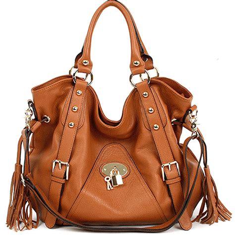 genuine leather handbag shoulder bag tote womens