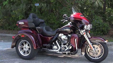 New 2014 Harley Davidson Flhtcutg Tri Glide Trike Water