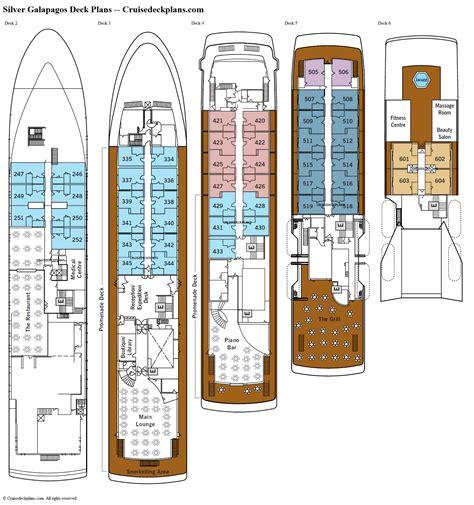 Azamara Journey Deck Plan Pdf by Silver Galapagos Deck 2 Deck Plan Tour