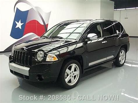 jeep compass limited sunroof purchase used 2009 jeep compass limited sunroof htd