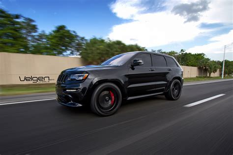 2016 jeep cherokee sport black rims black jeep srt8 on velgen wheels vmb5 jeep garage jeep