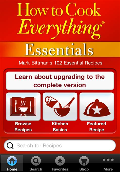 essentials cook everything
