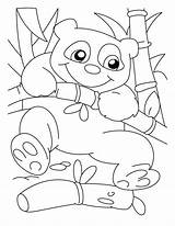 Panda Coloring Pages Bear Printable Climber Sheets Adult Adults Cartoon Bestcoloringpagesforkids Giant Popular Getcolorings Coloringhome Library Clipart sketch template