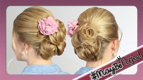 leichte frisuren für lange haare leichte hochsteckfrisur f 252 r mittel lange haare maybeperfect