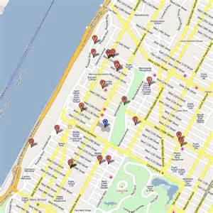Map of St. John City Park New York