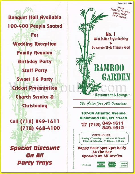 bamboo garden menu bamboo garden indian restaurant in richmond hill