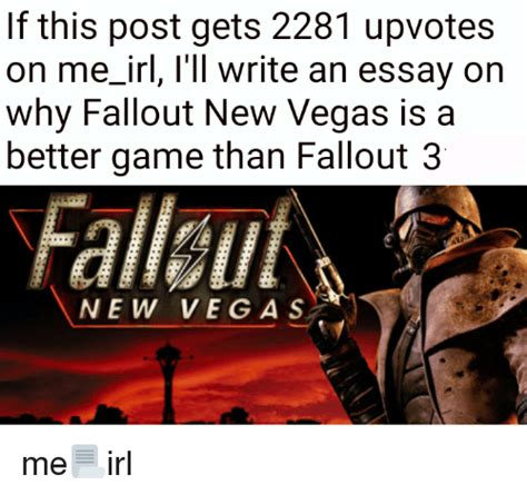 New Vegas Memes - 25 best memes about fallout 3 new vegas fallout 3 new vegas memes