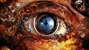 Download Wallpapers, Download 1024x1024 eyes steampunk ...