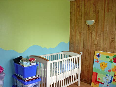 bricolage chambre b chambre bebe bleu turquoise vert anis