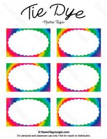 rainbow name tags printable pictures to pin on pinsdaddy