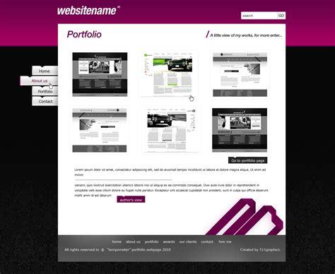 web design portfolio portfolio website design by gwstyle on deviantart