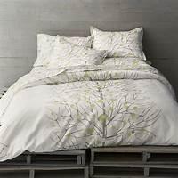 perfect modern duver cover Marimekko Lumimarja Celery Duvet Cover - Modern - Duvet ...