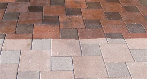 cleaning patios tiles and other outdoor