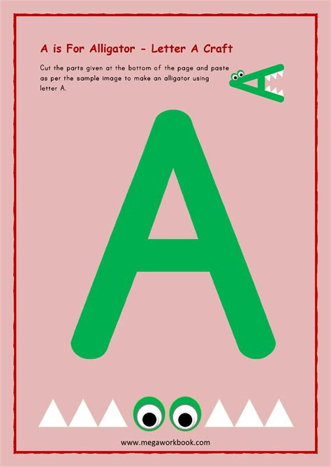 Letter A Activities - Letter A Worksheets - Letter A ...