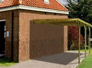 l39ossature bois coup de projecteur sur un abri modulable With allee pour voiture dans jardin 12 carport 2 voitures toit plat