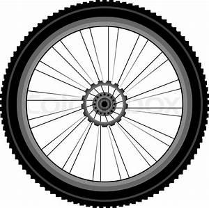 Reifen Für Fahrrad : fahrrad rad mit reifen und speichen auf wei em hintergrund ~ Jslefanu.com Haus und Dekorationen