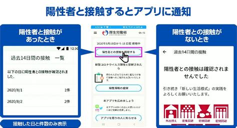 接触 確認 アプリ 登録 者 数