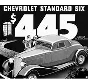 Chevrolet 1933 Standard Coupe Ad Art Poster ChevyMall