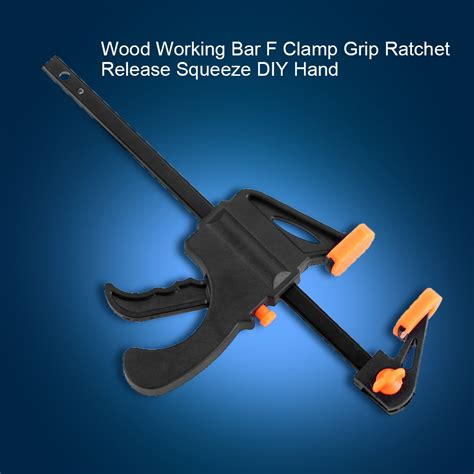 wood working bar  clamp grip clip ratchet