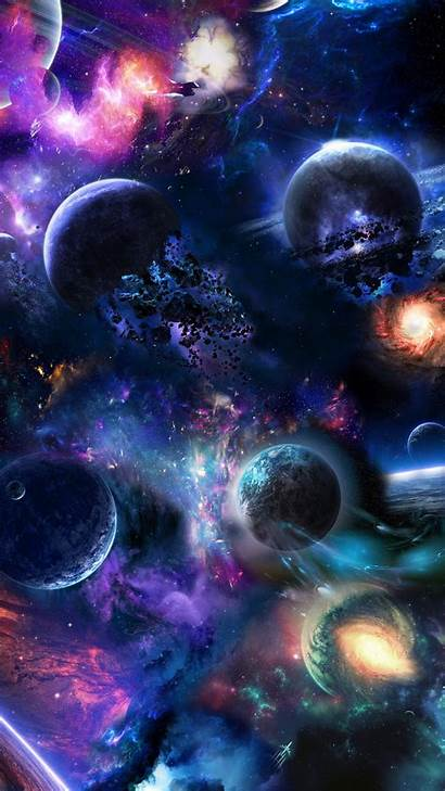 Space Phone Background Amazing Artstation Wallpapers Abstract