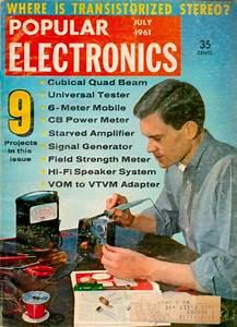 Vintage Popular Electronics Magazine Articles