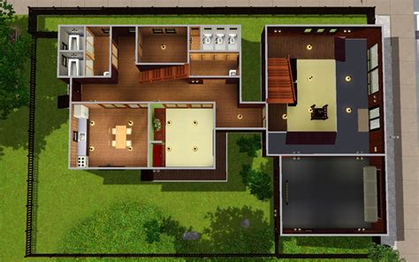 home layout mod the sims japanese style house 13