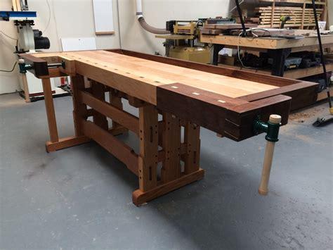 greene greene inspired workbench finewoodworking