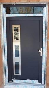Plastové dveře antracit