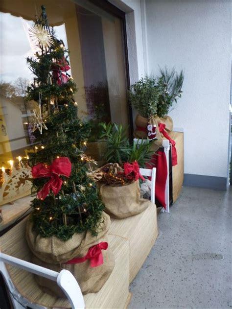 Balkon Deko Weihnachten by Weihnachtsdeko Balkon Weihnachten 2015 Meeresbrise