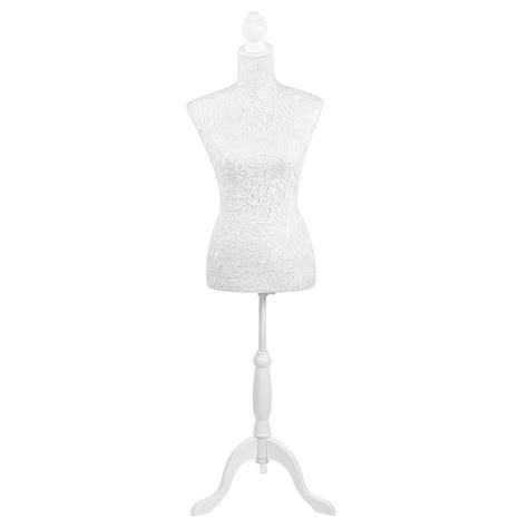 mannequin maison du monde mannequin couture blanc h 160 cm dentelle maisons du monde