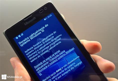 jak zaktualizować telefon windows phone 8 1 do wersji windows 10 mobile msmobile pl
