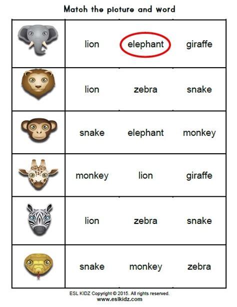 zoo activities games  worksheets  kids