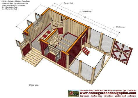 chicken pen plans home garden plans cb200 combo plans chicken coop plans construction garden sheds