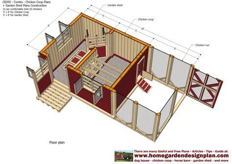 construction home plans home garden plans cb200 combo plans chicken coop