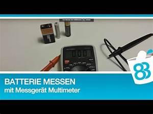 Fön Mit Batterie : batterie messen mit messger t multimeter youtube ~ Kayakingforconservation.com Haus und Dekorationen