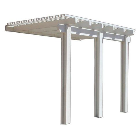 four seasons building products 14 ft x 10 ft white