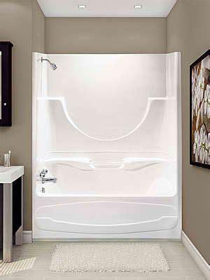 one tub shower unit decorate around a fiberglass tub shower combo enclosure