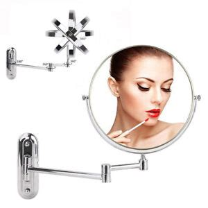 wall mount makeup mirror  magnification   side