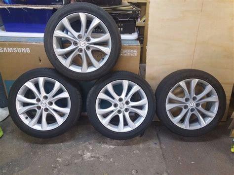 205 50 r17 sommerreifen alloy wheels 4 no 205 50 r17 mazda 3 sport 2008 2017 in lancashire gumtree