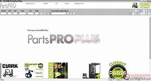 Clark Forklift Parts Pro Plus V437  10 2016  Full