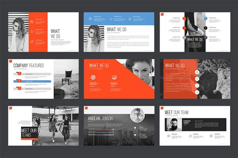 Creative Templates by Marketing Agency Powerpoint Template 64617