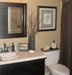Guest Bathroom Decorating Ideas Guest Bath Makeover Total Cost 240 Chocolate Brown Blue Bathroom Remodel